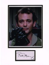 Bill Murray Autograph Signed Display - Ghostbusters